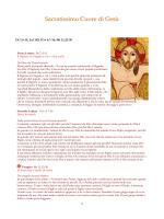 Sacratissimo Cuore di Gesù A 2014