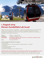 Flyer Dinner-Gondelfahrt (PDF)