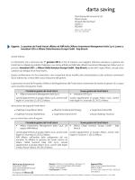 Oggetto: La gestione dei Fondi Interni affidata ad AIM Italia