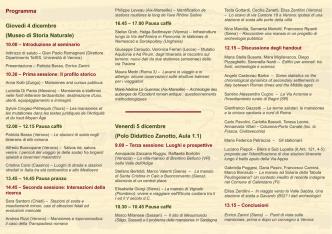 Brochure - Tempo, Spazio, Immagine, Società