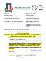 Convocati U14 Aree 20 dic Milano - Comitato Regionale Lombardo