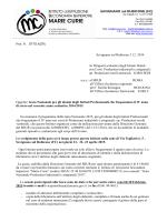 SAVIGNANO sul RUBICONE (FC) Prot. N. 5715 /c27c Savignano sul