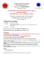 campionato regionale ski-i lombardia domenica 06 aprile