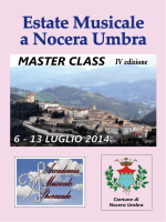 Scarica la Brochure Master Class