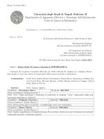 Commissione - Informatica