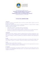 programma dei laboratori - Università Cattolica del Sacro Cuore