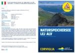 NATURSPEICHERSEE LEJ ALV - Engadin St. Moritz Mountains