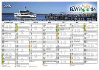 BAYregio Kalender A4 2015 (Page 3) - BAYregio.de
