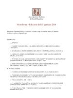 Gennaio 2014 - Associazione Italiana Studi Bizantini