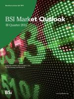 BSI Market Outlook 3° Trimestre 2014