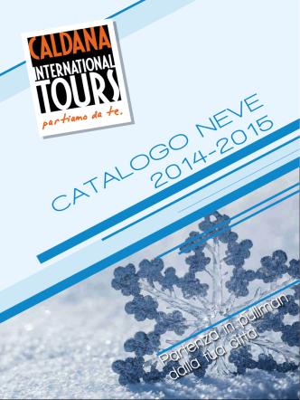 CATALOGO NEVE 2014-2015 - Caldana International