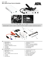 Mini Lithium Power Pack mit Starthilfe