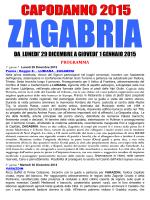 CAPODANNO 2015 - ZAGABRIA AdV