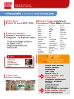 Retail Forum 2014 programma