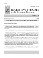 N. 42 parte III - Regione Toscana