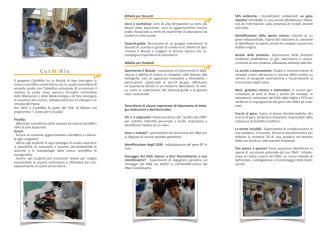 Cus Mi Bio - Università degli Studi di Milano