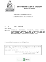 """Vedi Allegato - Indizione - """"Istituti Ospitalieri"""" di Cremona"""