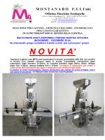 MONTANARO F. LLI SRL Officina Macchine Enologiche