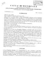 CITTA9 DI MONREALE - Comune di Monreale