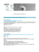 Programma ArtLab 14