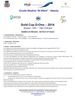 Gold Cup Alassio - Il D-one