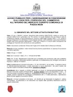 avviso pubblico - Comune di Pescara