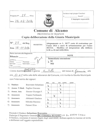 ANNO 2013/14 - Comune di Alcamo