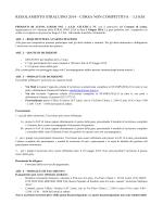 regolamento straluino 2014 – corsa non competitiva – 3,5 km