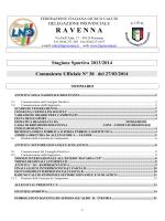 C.U. N. 38... - FIGC Ravenna