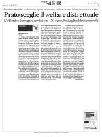 """Welfare di distretto - Polo Universitario """"Città di Prato"""""""