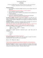 Esame + tracce 23-05-2014