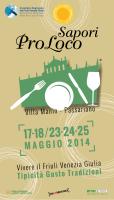 Il programma di Sapori Pro Loco 2014