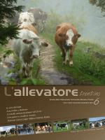 n° 6 NOV - DIC - Federazione Provinciale Allevatori Trento