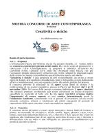 Bando - Fondazione Sandretto Re Rebaudengo