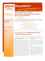 SPECIALE EVENTO ISTAT-AIQUAV