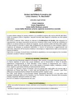 Sintesi POF 13-14 - Liceo Classico Statale A. Racchetti – Crema (CR)