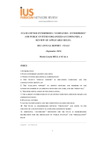 State-Owned Enterprises - ius