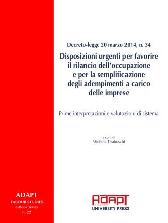 Decreto-legge 20 marzo 2014, n. 34