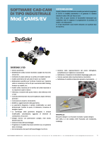cams/ev - software cad-cam di tipo industriale