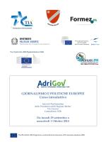Programma - Adriatic Euroregion