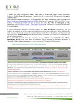 proposta formativa icom college / double degree program