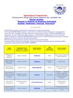 Operazione Trasparenza Destinazione Stage