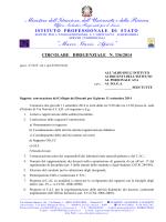 CircDirig 336 convocazione C.d.D. 11,09.2014