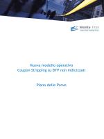 Nuova modello operativo Coupon Stripping su BTP non indicizzati