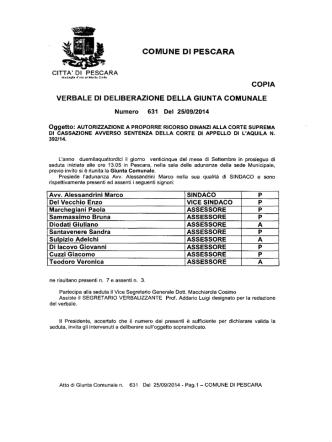 2_5SET.2014 - Comune di Pescara