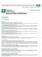 bollettino ufficiale - Programma Operativo Competitività FESR