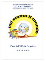 POF A.S. 2013-2014 completo - Istituto Comprensivo Luca della