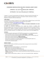 CONVENZIONE FORNITURA ARTICOLI PER