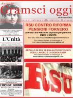RSU CONTRO RIFORMA PENSIONI FORNERO