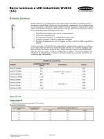 Barra luminosa a LED industriale WLB32 (CC)